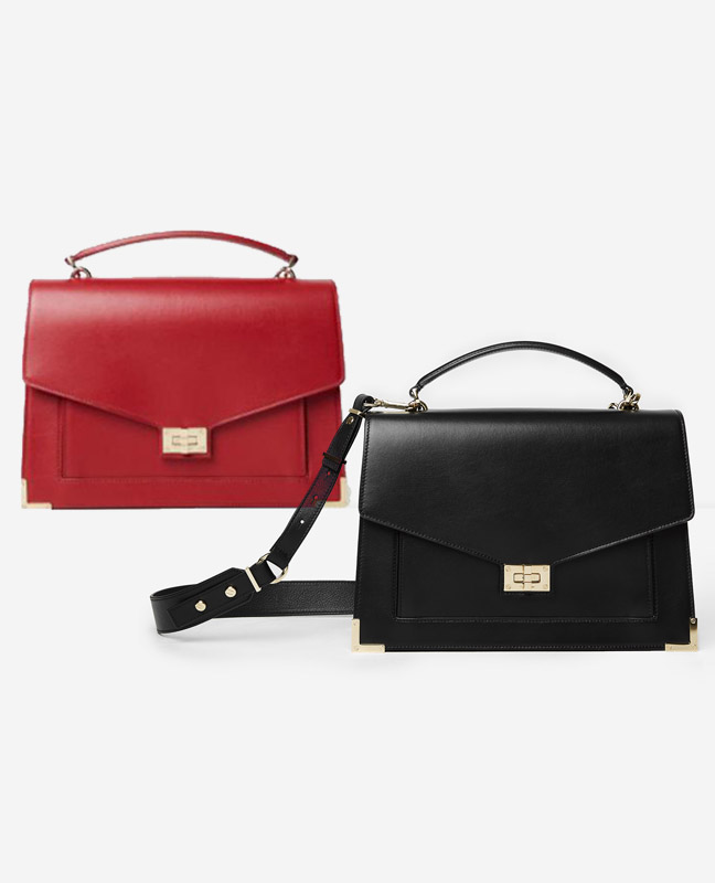 57d8cfa8f5 Pack The Kooples - 2 sacs à main cuir collection Emily-Kooples ...